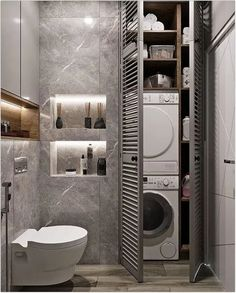 laundry room ideas maximize your tiny home and make life a little easier . laundry room ideas maximize your tiny home and make life a little easier . - 40 small bathroom remodel ideas on a budget 35 Modern Bathroom Decor, Simple Bathroom, Bathroom Interior Design, Bathroom Ideas, Budget Bathroom, Bathroom Vintage, Laundry Room Bathroom, Bath Room, Interior Decorating