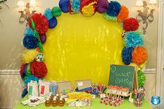 school themed party  -- cute for a student teacher party or teacher grad
