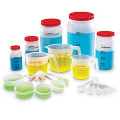 Learning Resources Liquid Measuring Set