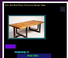 Iron And Wood Patio Furniture Design Ideas 151130 - The Best Image Search