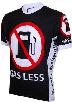 Gas Less Mens Cycling Jersey by eCycle  40 Unique Cycling Jerseys 3a22595de