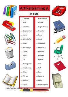 Learn German, Worksheets, Training, School, Activities, Note Cards, German Grammar, Dyslexia, Free Worksheets