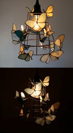 Etsy Shop Feature on So Super Awesome Diy Luminaire, Stained Glass Crafts, Stained Glass Lamps, Aesthetic Room Decor, Home And Deco, Room Inspiration, Interior Decorating, Interior Design, Bedroom Decor