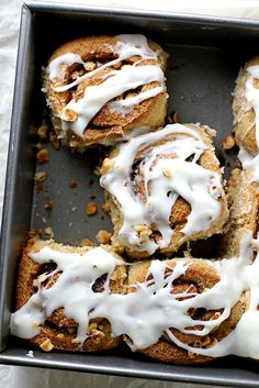 Hazelnut Rye Rolls | girlversusdough.com @girlversusdough