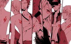 吠舞羅家族 K Project Anime, Project Red, Anime Guys, Manga Anime, Anime Art, Manga Girl, Cute Anime Pics, Cute Anime Couples, Return Of Kings