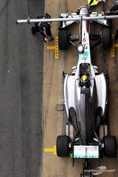 Rosberg (Barcelona Testing 2013) Mercedes AMG F1 W04 Real women have curves. Real cars do more than turn left.