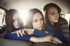 The Staves--Press Shot by Rebecca Miller.