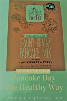How to do pancake day, the healthy way! Gluten-free, Sugar-free, Vegan and Non GMO pancakes. Sugar Free Pancakes, Gluten Free Pancakes, How To Do Pancakes, Scotch Pancakes, Vegetarian Pancakes, Milk Alternatives, Pancake Day, Thing 1, Natural Honey