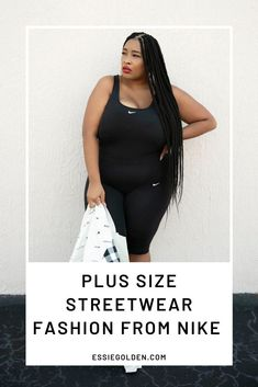 I collaborated with another blogger to showcase different styles that Nike sent over. Check out this post to see how I styled pieces from Nike's plus size fashion collection. Street Style Trends, Plus Size Casual, Streetwear Fashion, Different Styles, Plus Size Fashion, Street Wear, Style Inspiration, Nike, My Style