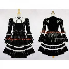 Fond Cosplay : PVC - O Dress Gothic Clothing School Uniforms Lolita Clothing Medieval Gown Venice Carnival Movie Costumes Cosplay Wig Cosplay Shoes Anime Costumes Game Costumes Other Costumes Cosplay Accessories Sissy Maid Uniform New Arrival Vinyl Clothing, Maid Uniform, Latex Girls, Maid Dress, Cosplay Costumes, Mascot Costumes, Gothic Lolita, Lolita Fashion, Costume Accessories