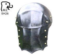New+Medieval+pair+of+pauldron+in+Black+steel+Armor+by+MarcoSteel,+$149.99