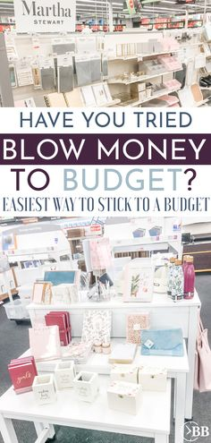 Blow Money- The Little Known Secret To Sticking To Your Budget Work From Home Jobs, Make Money From Home, How To Make Money, Setting Up A Budget, Living On A Budget, Making Extra Cash, Fun Hobbies, Budgeting Money, Amazon Gifts