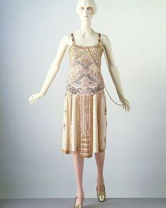 Evening dress, by Jean Patou, ca. 1924 Victoria and Albert Museum