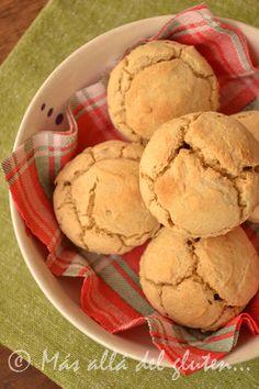 Más allá del gluten...: Pancitos Fáciles de Quinua (Receta GFCFSF, Vegana)