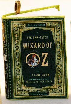 Wizard of Oz Mini Book Pendant The Wizard of Oz Jewelry by Kits
