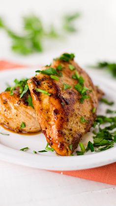 A super quick marinade with delicious heat. Say goodbye to boring chicken breasts!