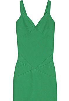 DVF Diane von Furstenberg 'Benny' Green Mini Dress sz 6 - Catch 22 Boutique