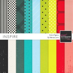 Inspire Extra Papers Kit*