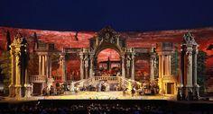 Arena di Verona's Don Giovanni (2012). Production and sets by Franco Zeffirelli.