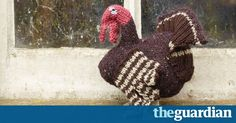 A turkey is for life, not just for Christmas (dinner). Create yours with this pattern from Sally Muir and Joanna Osborne's Knit Your Own Farm