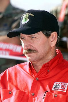 """My mom worked for him for 25 years.) Legendary NASCAR driver Dale Earnhardt competed for 26 years and earned the nickname """"The Intimidator"""" as he dominated the sport during the and ^cs Nascar Sprint Cup, Nascar Racing, Terry Labonte, The Intimidator, Daytona 500, Daytona Beach, Tony Stewart, Dale Earnhardt Jr, The Man"""