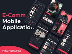 Free Figma resources and templates for the first interface design tool with real-time collaboration. Here we have icons, type guides and app concepts all designed with Figma. Mobile App Ui, New Mobile, Adobe Xd, Craft Free, Ui Kit, Fashion Sale, Interface Design, Best Web, Mobile Application