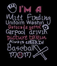 Baseball Mom thats my mom lol @Sherri Levek Levek Eaton