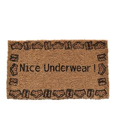 How dare you talk about my undergarments! Lol ~