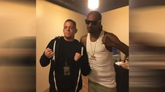 Nate Diaz meets Snoop Doggy Dogg