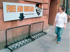 Free air guitars.