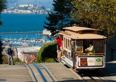 One doesn't travel to San Francisco to sit indoors. The City by the Bay's charm can only be soaked up by driving down the steep Lombard Street, walking Best Travel Deals, Travel Info, Travel Money, Travel Trip, San Francisco Travel, San Francisco California, California Dreamin', Northern California, Queens