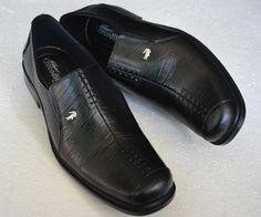 sepatu pantofel pria berbahan kulit (crocodile 003) Rp 185.000