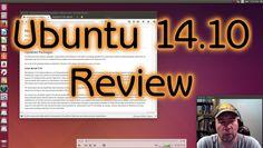My review of Ubuntu 14.10.