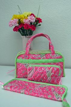 Looking for your next project? You're going to love Quilted Sewing & Travel Organizer Bags by designer Barbara Weiland.