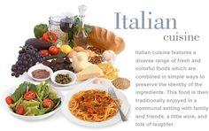 Simple, delicious, colorful...Italiano cusine!