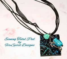 Evening Tidal Pool handmade necklace artisan necklace