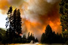 Wildfires have exploded in my little valley of Montana.  Please pray for rain for all of us in the West!!!