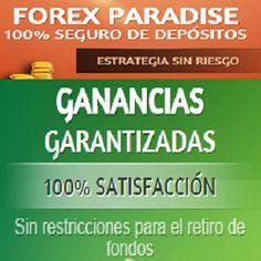 Rentabilidad total HASTA 430%  GANANCIAS GARANTIZADAS  100% SATISFACCION 100% SEGURO DE DEPOSITOS ESTRATEGIA SIN RIESGO RETIROS INSTANTANEOS y sin restricciones  MAS DE 2 AÑOS en linea  250.000 miembros de mas de 100 paises >> Toma Accion Ya, +Info Y Registro Gratis Aqui: http://marketing-content.net/forexparadise/landing/es #forexparadise #negocios #NegociosOnline #NegociosPorInternet #NegociosEnInternet #inversiones #InversionesOnline #forex #GanarDinero #IngresosOnline