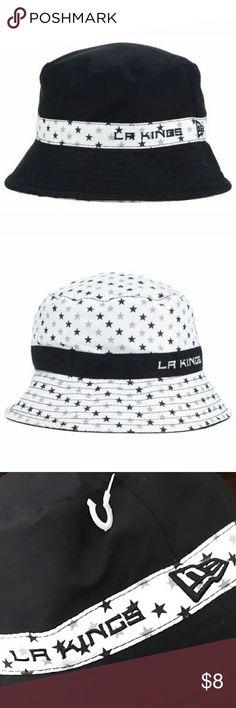 cd322f9ffe64ae NHL LA Kings Toddlers Childrens Sun Hat Floppy NEW LA Kings NHL New Era Sun  Hat