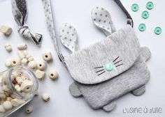 patron couture gratuit sac pour enfants - Side Tutorial and Ideas Sewing For Kids, Baby Sewing, Diy For Kids, Pop Couture, Couture Sewing, Fabric Crafts, Sewing Crafts, Sewing Projects, Diy Sac