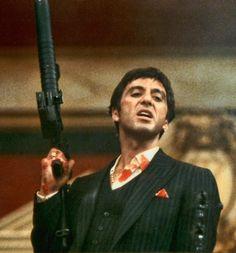 """Al Pacino en """"El Precio del Poder"""", 1983"""
