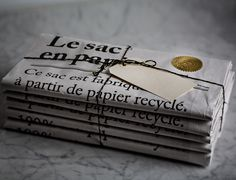 I am stocking 'le sac en papier' or 'the paper bag' in my big cartel shop. They are such an adorable storage piece that I simply . Big Cartel Shops, Paper Art Design, The Paper Bag, Brand Architecture, Sock Shop, Stationery Paper, Brown Paper, How To Make Paper, Kraft Paper