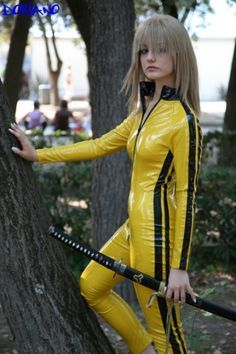 yellow kill bill outfit - Google Search