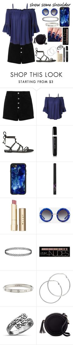 """""""Summer Wishing #10"""" by xxmonnyxx on Polyvore featuring rag & bone/JEAN, LE3NO, Temperley London, Marc Jacobs, Casetify, Max Factor, Stila, Dolce&Gabbana, Charlotte Russe and Cartier"""