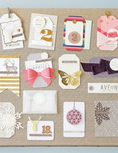 3D gift tags