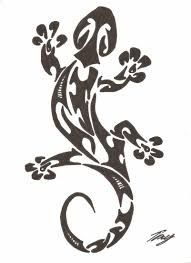 "Résultat de recherche d'images pour ""dessin salamandre"" Gecko Tattoo, Lizard Tattoo, Tattoo Art, Maori Designs, Tattoo Designs, Small Lizards, Animal Stencil, Marquesan Tattoos, West Art"