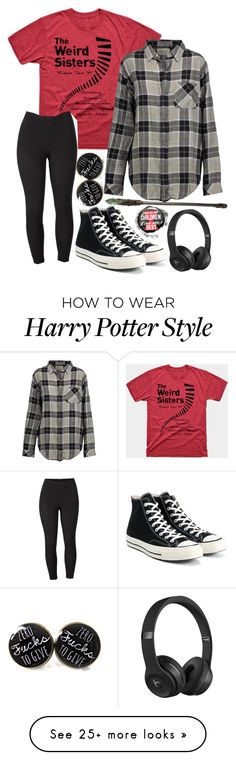 """Untitled #1200"" by twisted-magic on Polyvore featuring Current/Elliott, Venus, Converse, Beats by Dr. Dre, Marvel and plus size clothing"