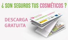 Listado de ingredientes a EVITAR en tus cosméticos, en formato pdf, disponible para descargar.