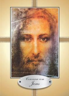 Conversa com Jesus 1.000 orações em papel couche 90g - Santinhos Ajuda Divina