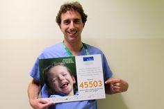 Dal 2003 la stella di #FondazioneAriel brilla per non lasciare sola nessuna #famiglia di #bambini con Paralisi cerebrale e altre #disabilità neuromotorie. Per farlo abbiamo bisogno dell'aiuto di tutti: basta un #SMSsolidale al #45503 per dare un aiuto concreto a queste famiglie, come ci ricorda il dott. Alberto Grassi Mantelli dello staff del prof. Portinaro.  #FondazioneAriel #SMSsolidale #felicità #sorriso #CampagnaSMS bit.ly/Ariel_SMS2016